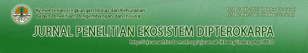 Jurnal Penelitian Ekosistem Hutan Dipterokarpa